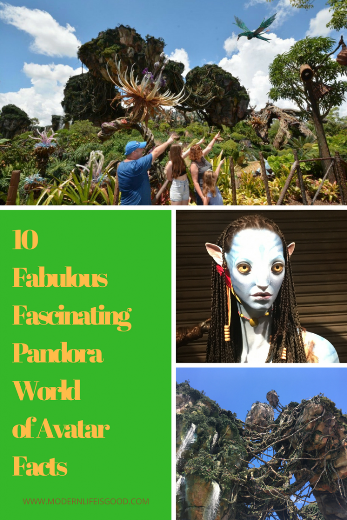 Pandora the World of Avatar Facts