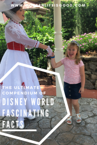 We love Walt Disney World here at Modern Life is Good. We also love a bit of trivia. Put them together and you get a world of Fabulous Fascinating Facts.