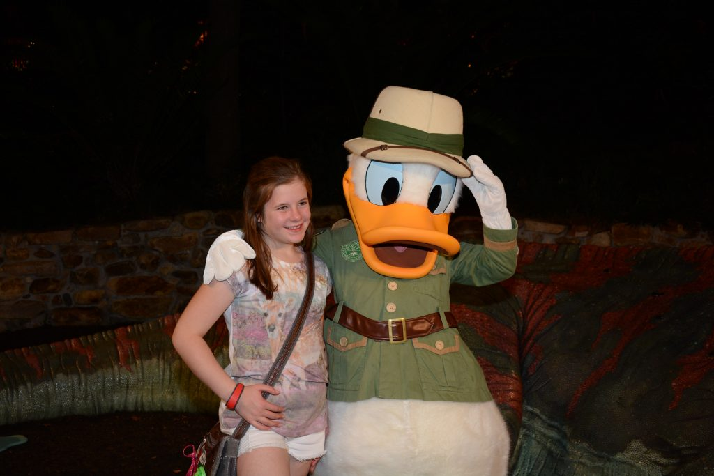 Donal Duck Animal Kingdom for Beginners