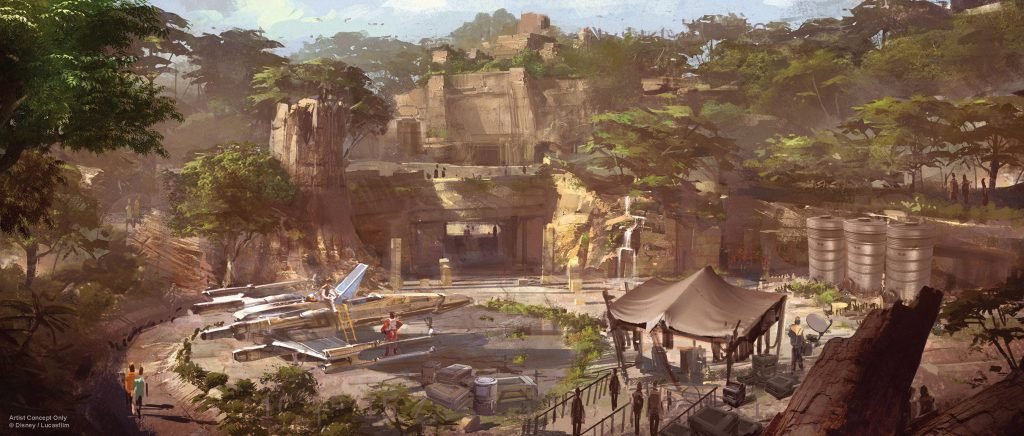 When will Star Wars Land open at Walt Disney World