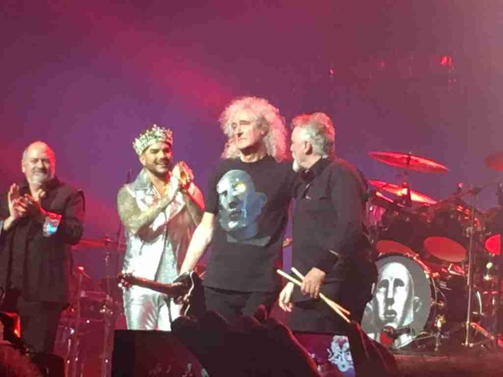 Brian May, Roger Taylor & Adam Lambert