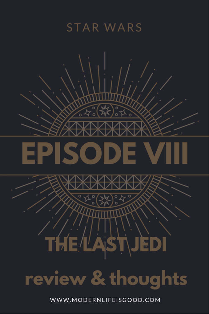 Star Wars The Last Jedi review and thoughts of a new generation of Star Wars Films. Does this film justify being episode 8?