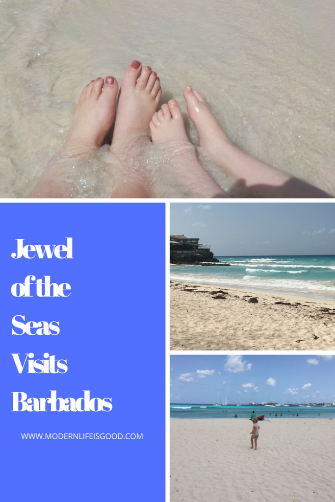 Barbados is our next step on Jewel of the Seas as we take part in a Beach Hop with plenty of Rum Punch.
