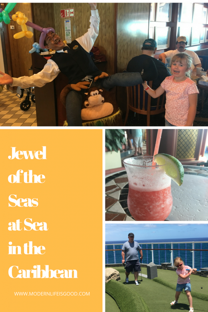 We continue our Southern Caribbean Vlog Series with our final day on Jewel of the Seas at Sea. Today we explore the ship and show you our Junior Suite Cabin