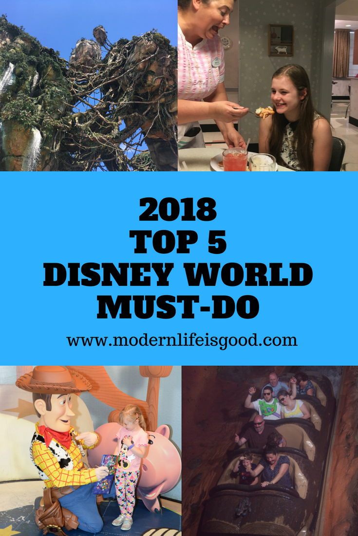2018 Must Haves: Top 5 Disney World Must-Do For 2018
