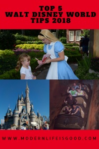 We have brought you plenty of tips on modernlifeisgood.com  to help plan your vacation. However, what are our very best top tips? Here is our Top 5 Walt Disney World Tips for your vacation. These Top 5 Walt Disney World Tips will ensure you will have a great time if you are visiting for 1 day or 2 weeks.
