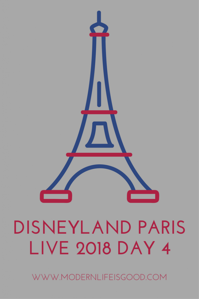 Disneyland Paris Live 2018 day4 Ratatouille, Chez Remy, illuminations, disability pass, coping with broken shoulder & history of resort.