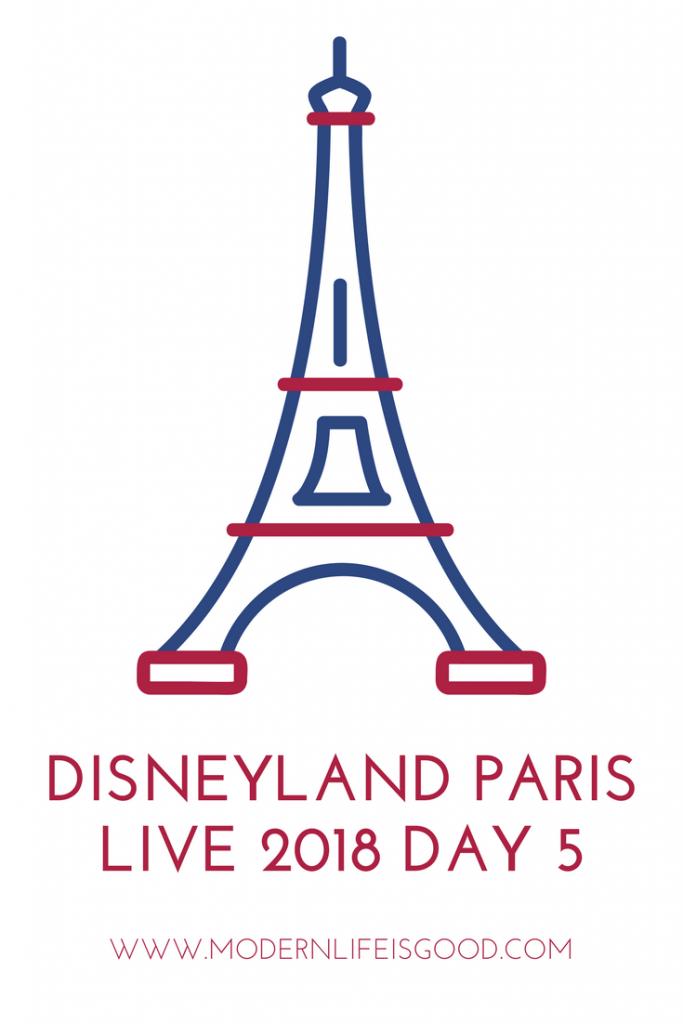 Disneyland Paris Live 2018 Day 5 Returning Home