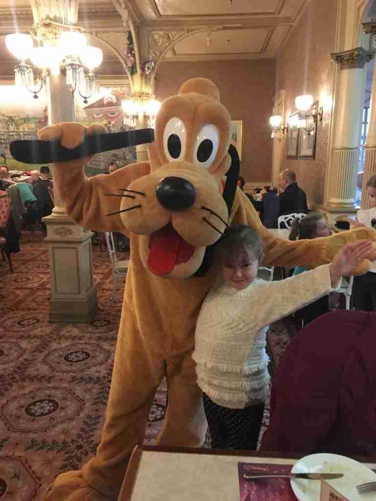 Pluto in Plaza Gardens Disneyland Paris