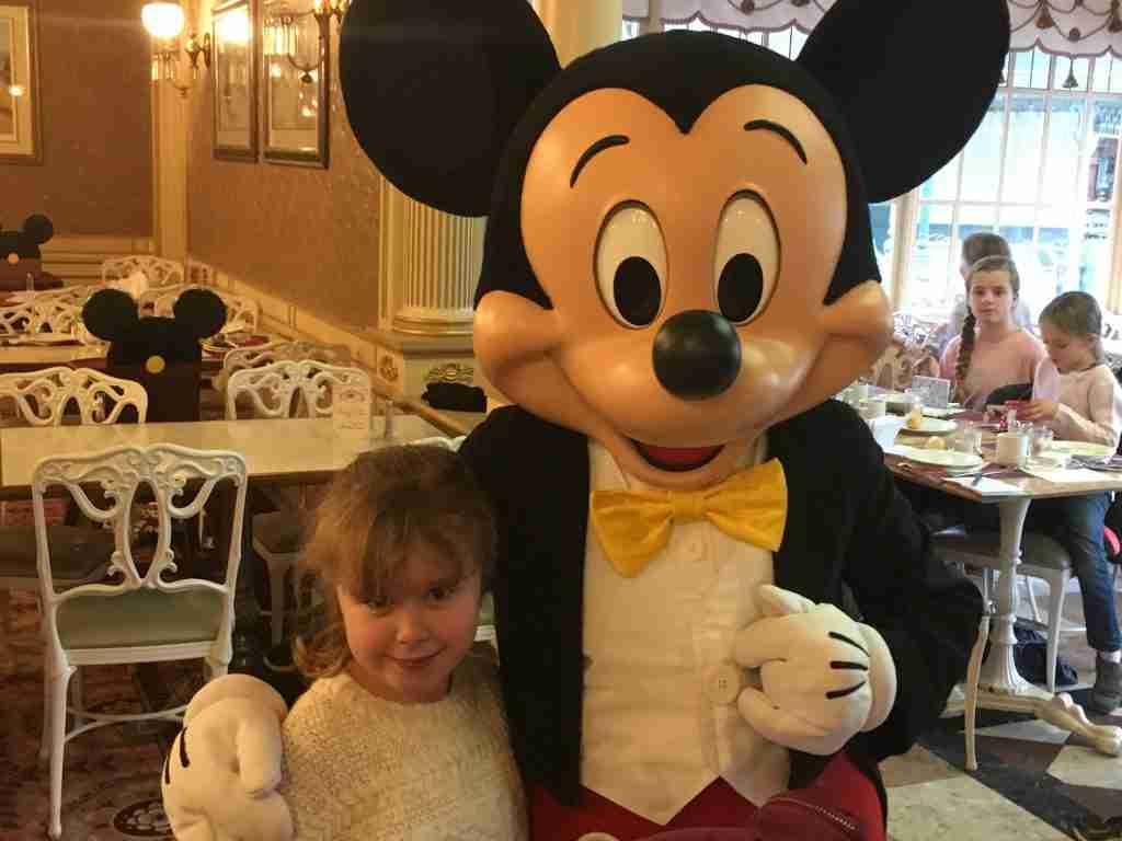 Mickey Mouse Plaza Gardens Disneyland Paris