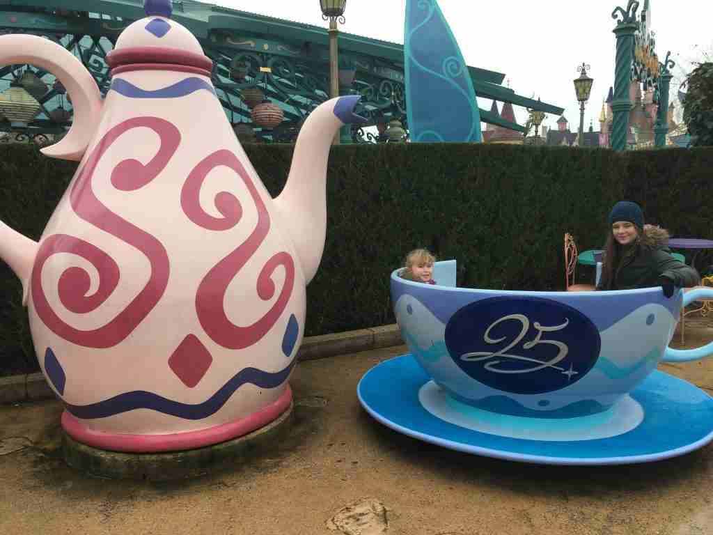 25 years Disneyland Paris teacup