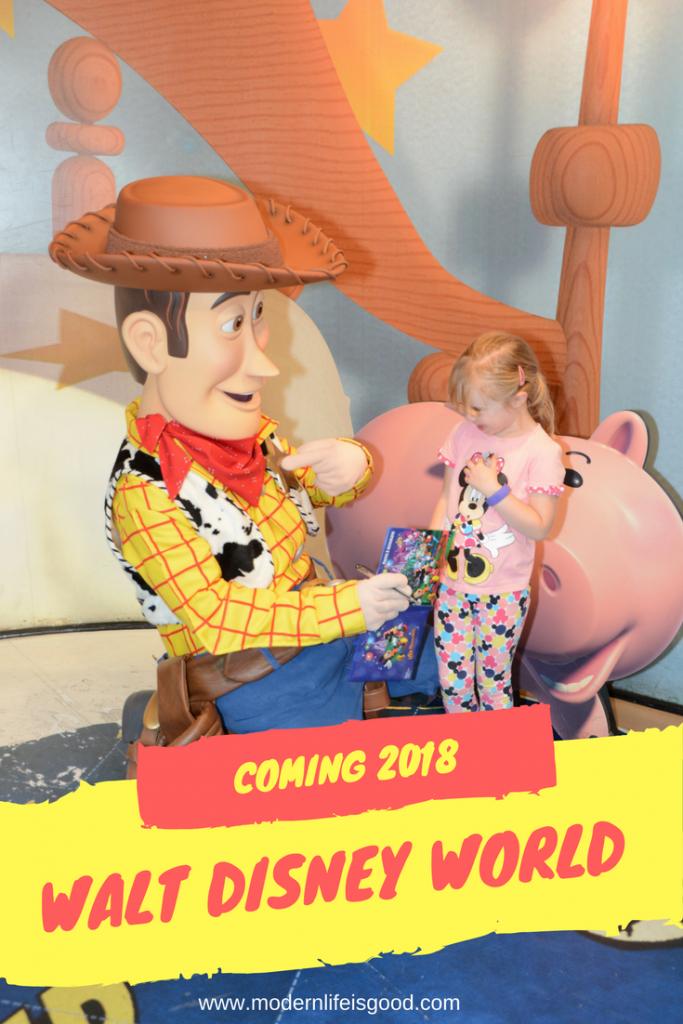 Coming to Walt Disney World in 2018