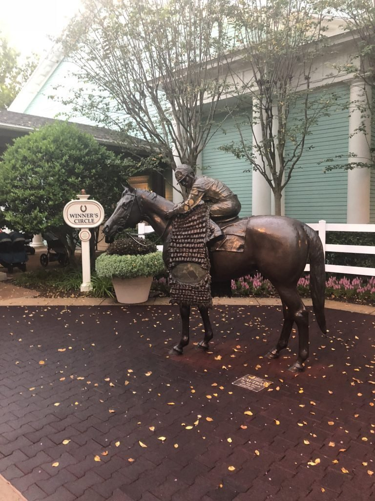 Disney's Saratoga Springs Resort & Spa horse statue