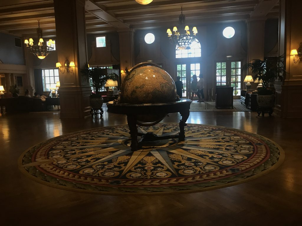Disney's Yacht Club Lobby