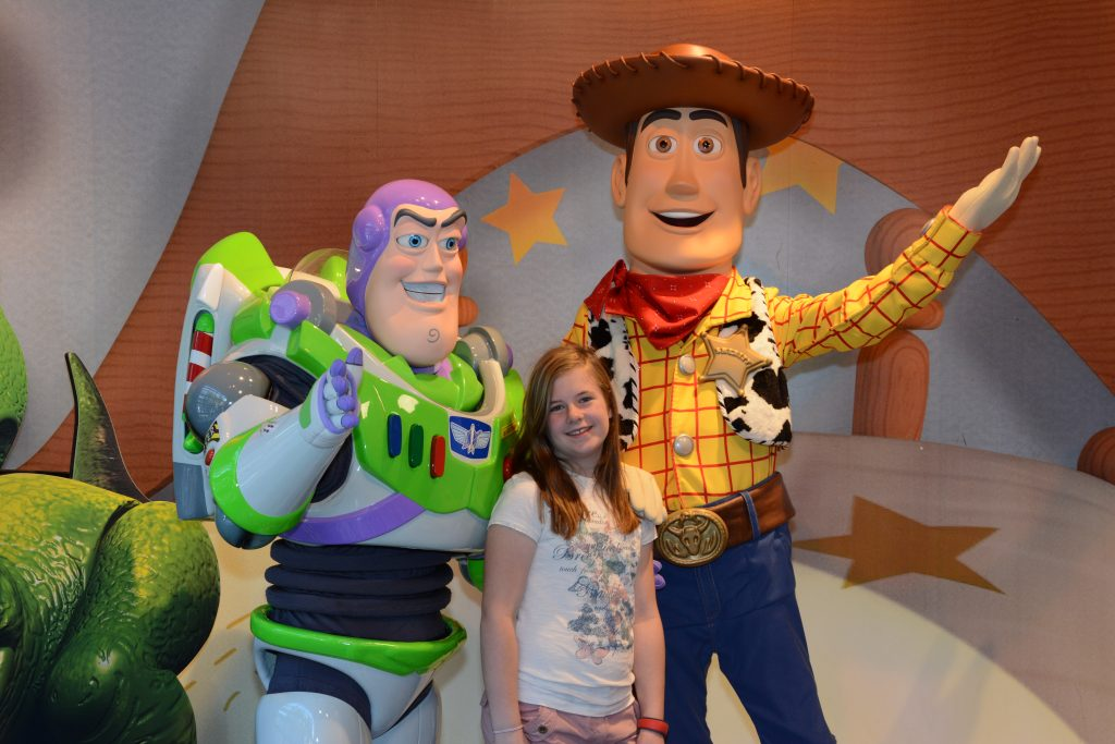 Meet Buzz & Woody at Toy Story land