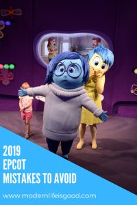 Tips and Tricks to avoid Epcot Mistakes in 2019