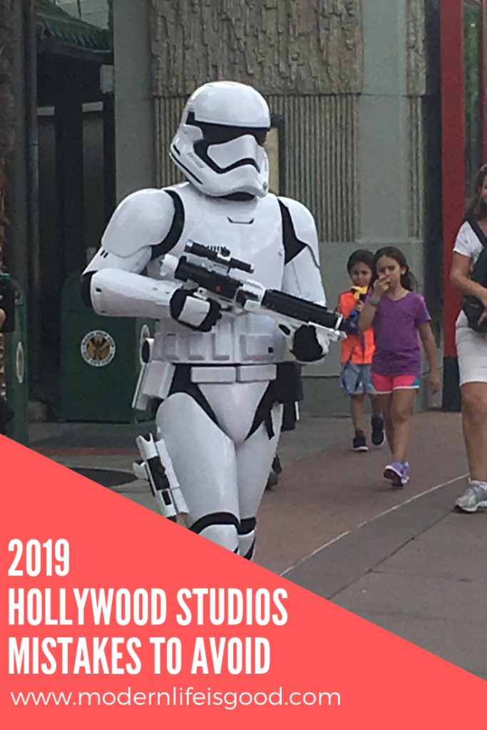 Hollywood Studios Mistakes to avoid in 2019