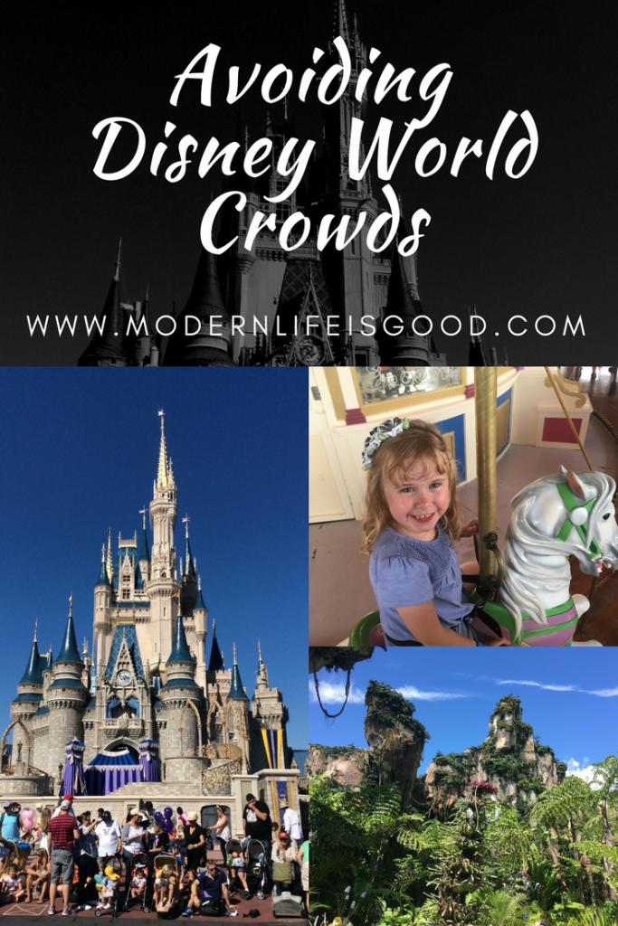 Avoiding Crowds at Walt Disney World