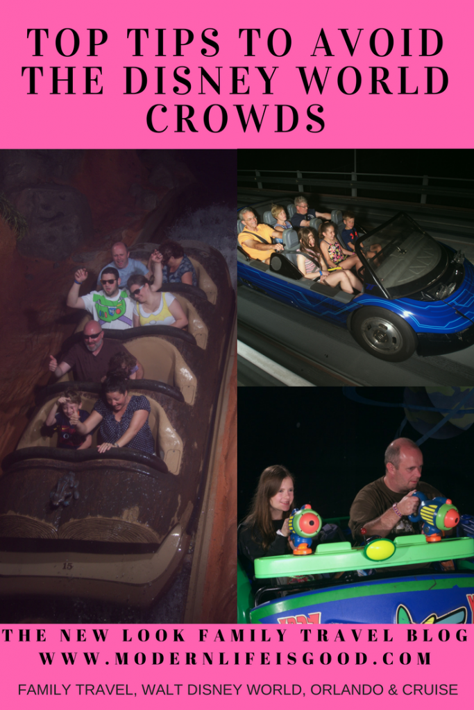 Our guide to avoiding crowds at Walt Disney World so you can have a perfect vacation no matter when you visit. Disney World is busy! Usually you will find it is very busy!! On occasions it is very, very busy!!! But you can avoid crowds and have a great vacation no matter when you visit Walt Disney World