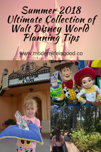 Walt Disney World Planning Tips 2018