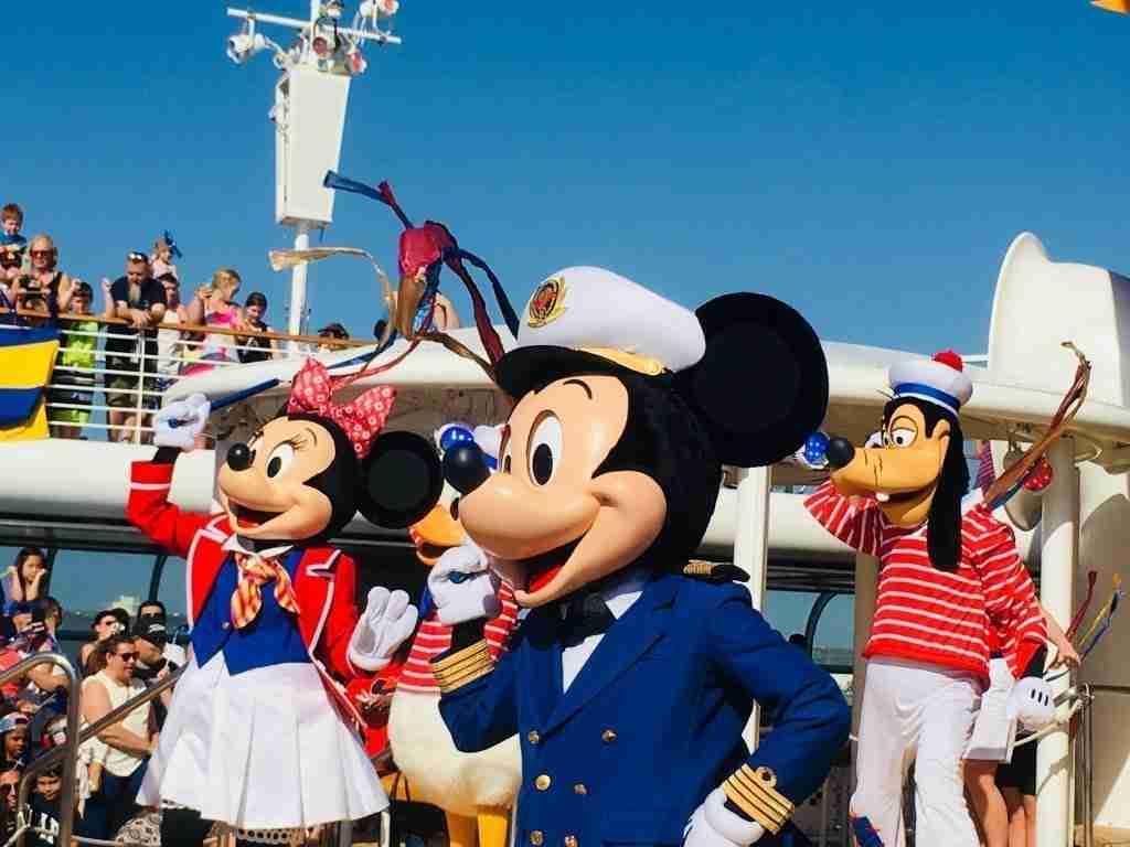 Disney Wonder Sail Away