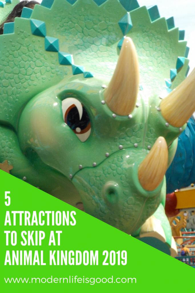 If you are only visiting the Animal Kingdom for one day, these are 5 Attractions to Skip at Animal Kingdom so you can still enjoy the best of the park.