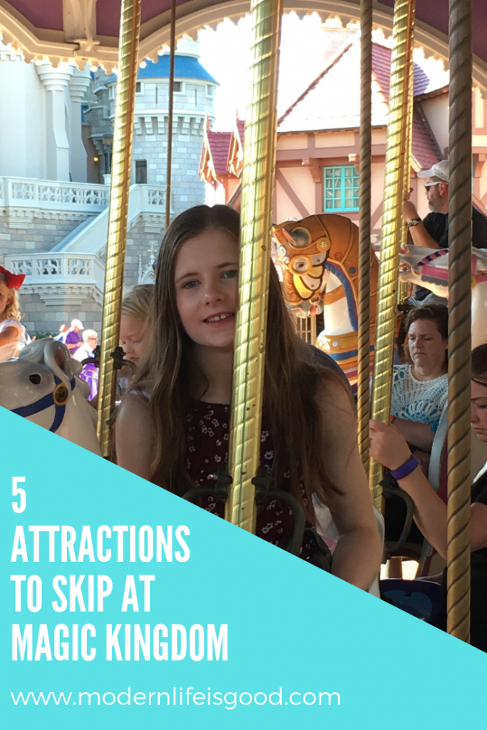 5 Attractions to skip at The Magic Kingdom