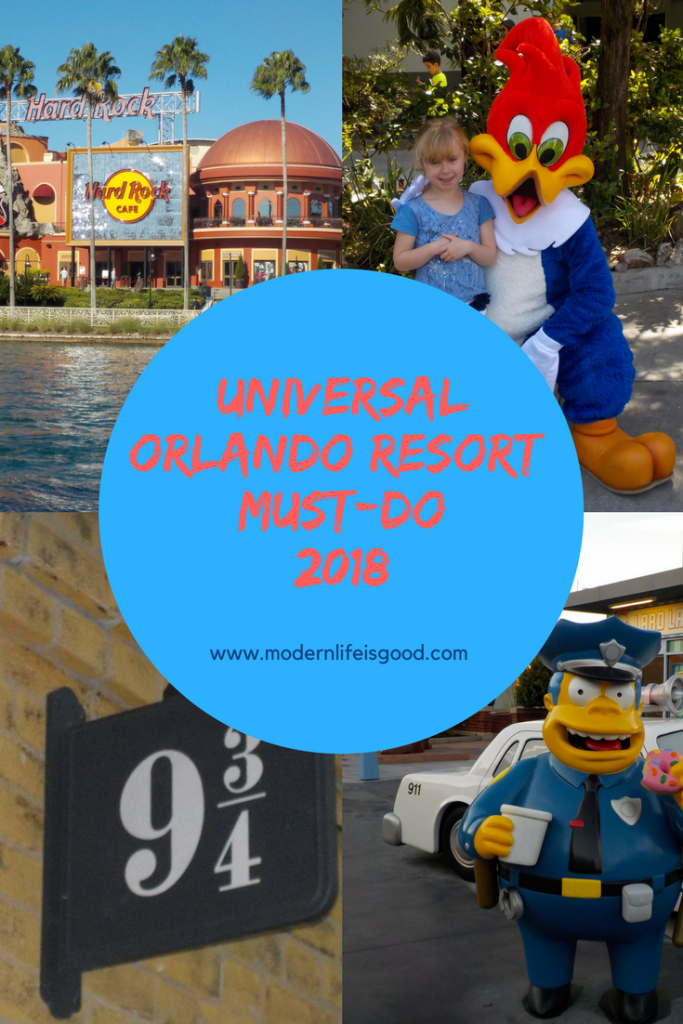 Univesral Orlando Resort in our opinion just keeps getting better & better. This is no longer a 1 or 2-day resort. In our opinion you need to spend at least 3 days at Universal Orlando to experience all the resort has to offer. Here is our Top 5 Universal Orlando Must-Do for 2018.