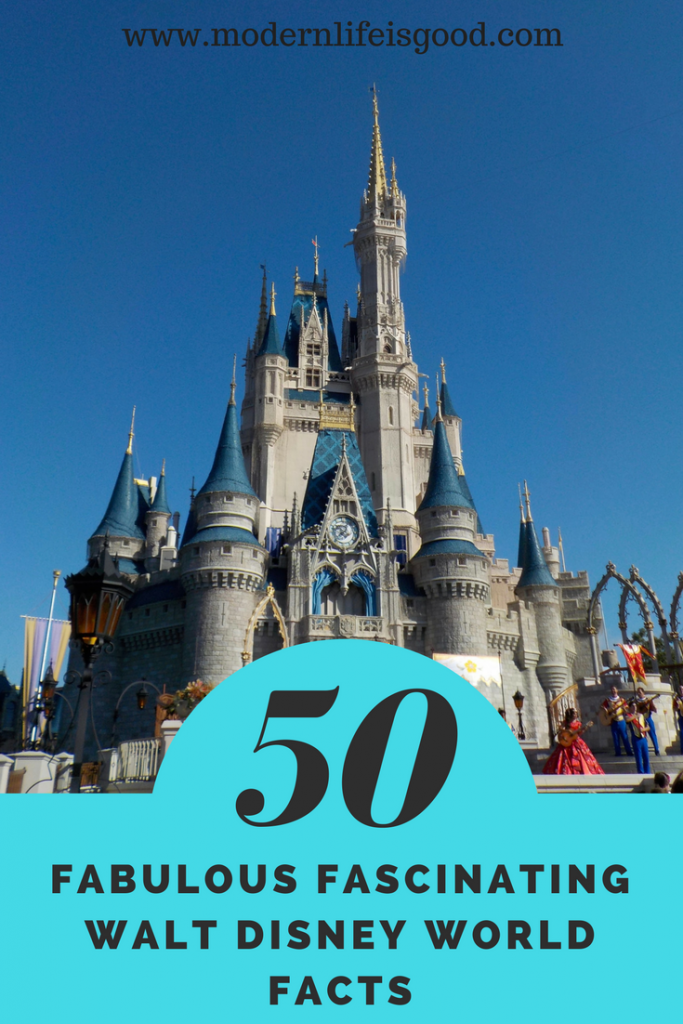 Walt Disney World is the most visited vacation resort in the world and is roughly the same size as San Francisco. The resort is full of interesting statistics and trivia. Here are our Top 50 Fabulous Fascinating Walt Disney World Facts. How many do you know?