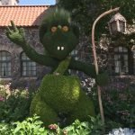 Troll Epcot Topiary