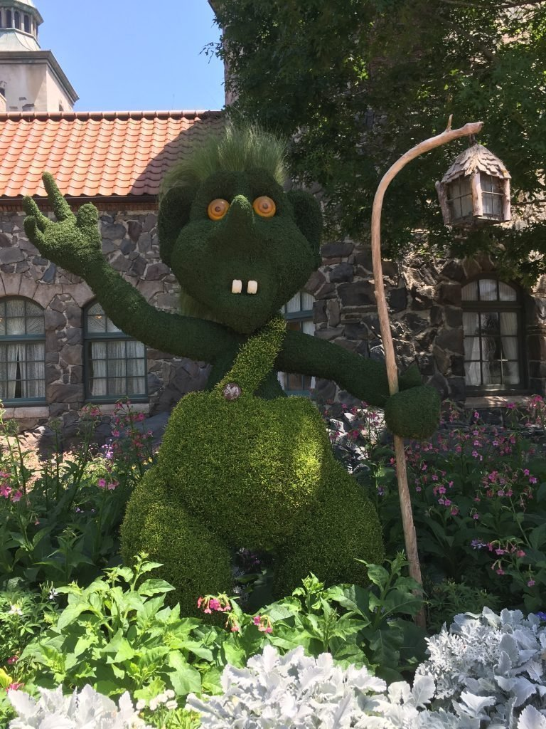 Troll Epcot Topiary