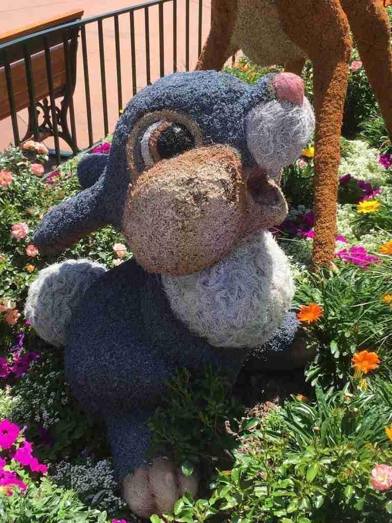 Thumper Epcot Flower & Garden Festival