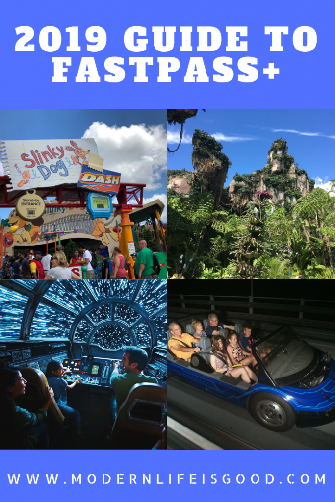 2019 Guide to Fastpass+ at Walt Disney World