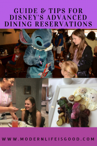 Disney's Advanced Dining Reservations are the system for making dining reservations at table service restaurants at Walt Disney World. All guests visiting Walt Disney World including day visitors can make Advanced Dining Reservations. Our guide will help you plan a perfect Disney Dining Experience.