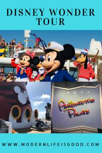 Disney Wonder Tour Disney Cruise Line