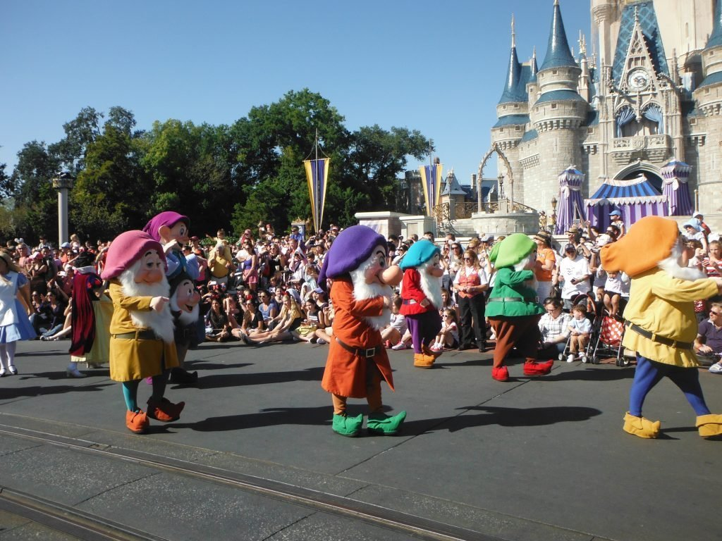 Festival of Fantasy parade the Seven Dwarves Guide to The Magic Kingdom Entertainment
