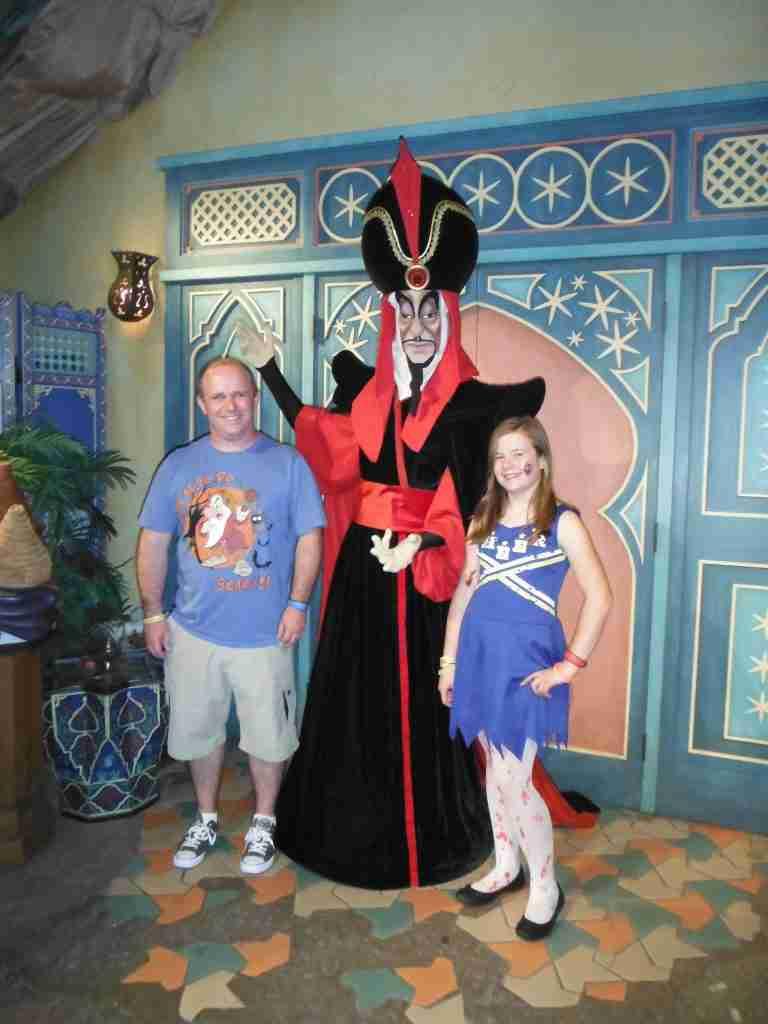 Magic Kingdom meeting villans Jafar
