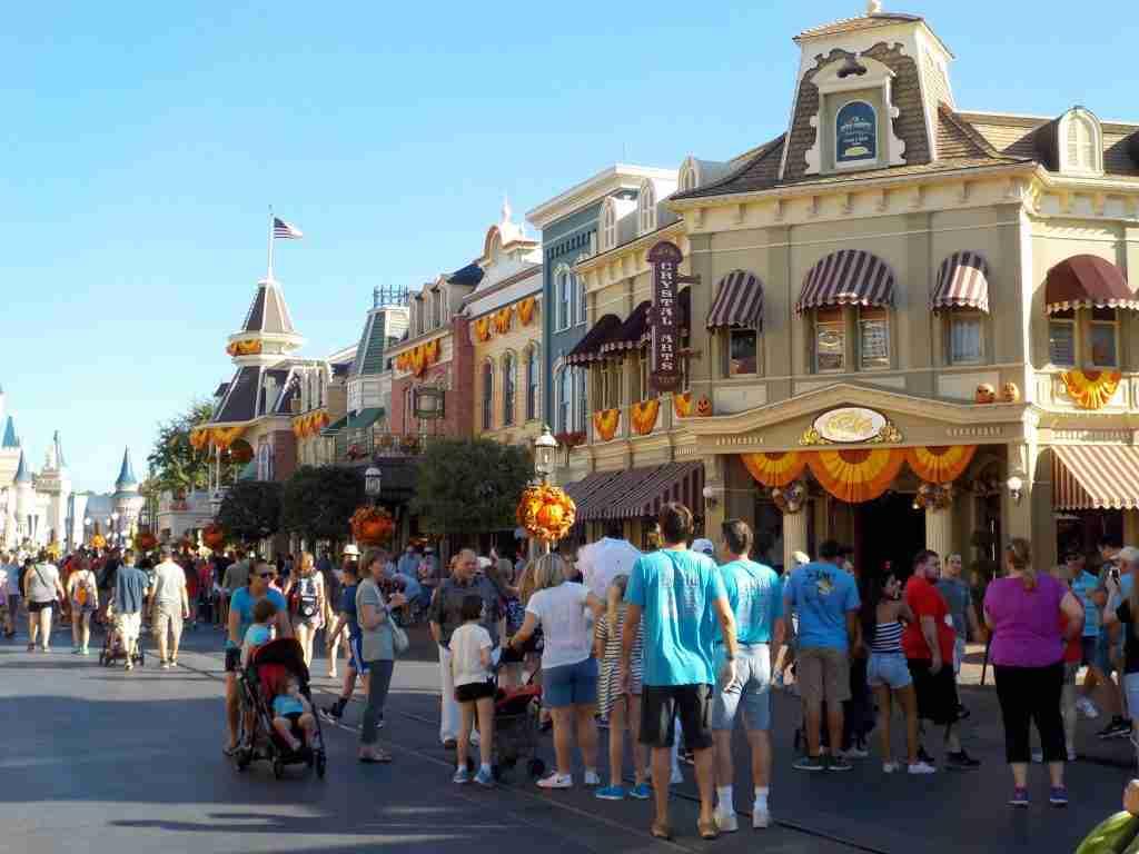 Main Street USA information Magic Kingdom