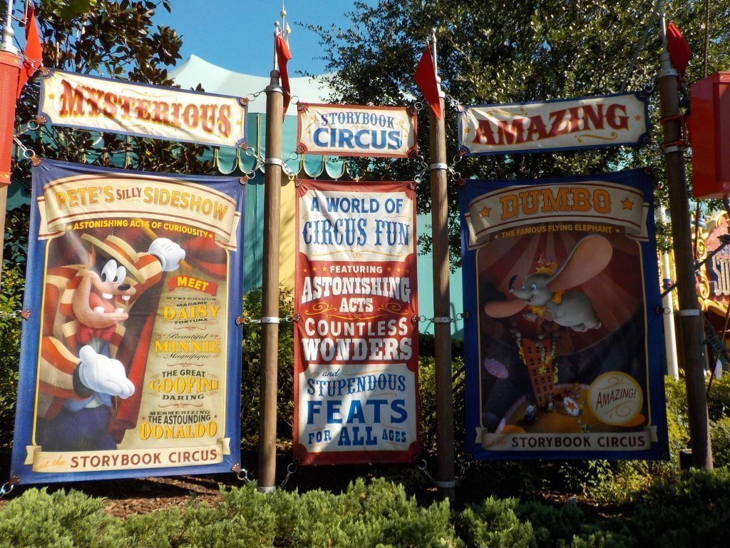 Storybook Circus Guide to the Magic Kingdom