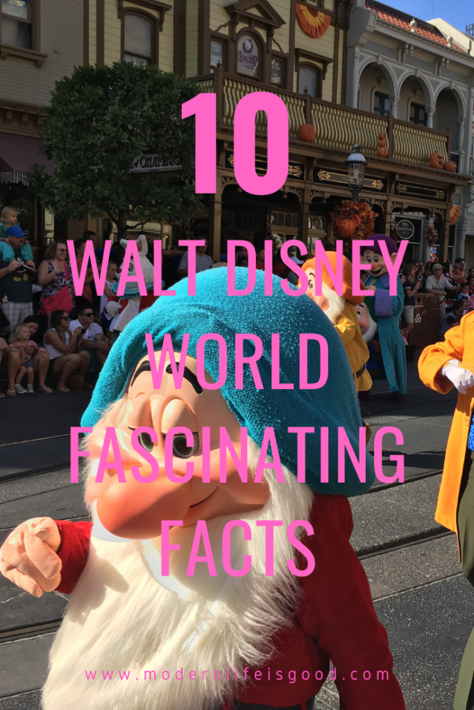 10 Walt Disney World Fascinating Facts was one of the very first articles we published here on Modern Life is Good. We have decided to give the article a cleanup for 2020. Walt Disney World is currently in a state of change as it continues its reopening plan. However, these resort facts remain interesting and relevant. Impress your friends with our Walt Disney World Facts.