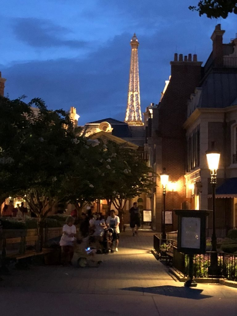 France Epcot for Beginners Eiffel Tower