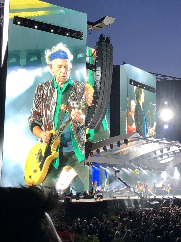 The Rolling Stones No Filter Tour Manchester Keith Richards