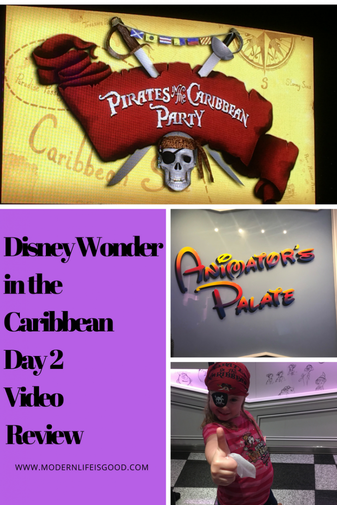 Disney Wonder Day 2 In The Caribbean 2018
