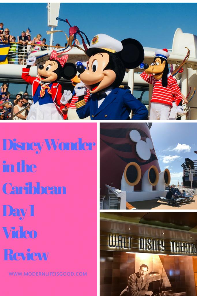 Disney Wonder Day 1 In The Caribbean 2018