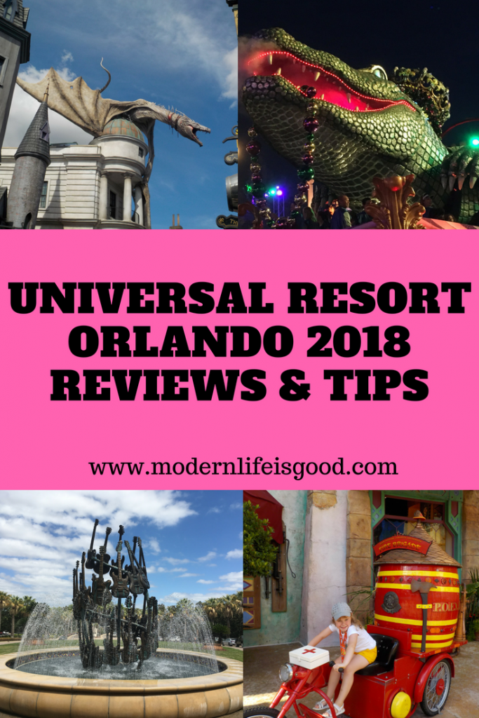 We love Universal Orlando at Modern Life is Good. The resort just continues to get better with stunning new attractions. 2018 brings the new Universal's Aventura Hotel, Fast & Furious – Supercharged & The Nighttime Lights at Hogwarts Castle. Join us on our latest Universal Orlando Reviews & Tips.