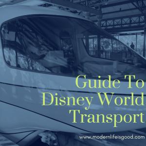 Guide to Walt Disney World Transport