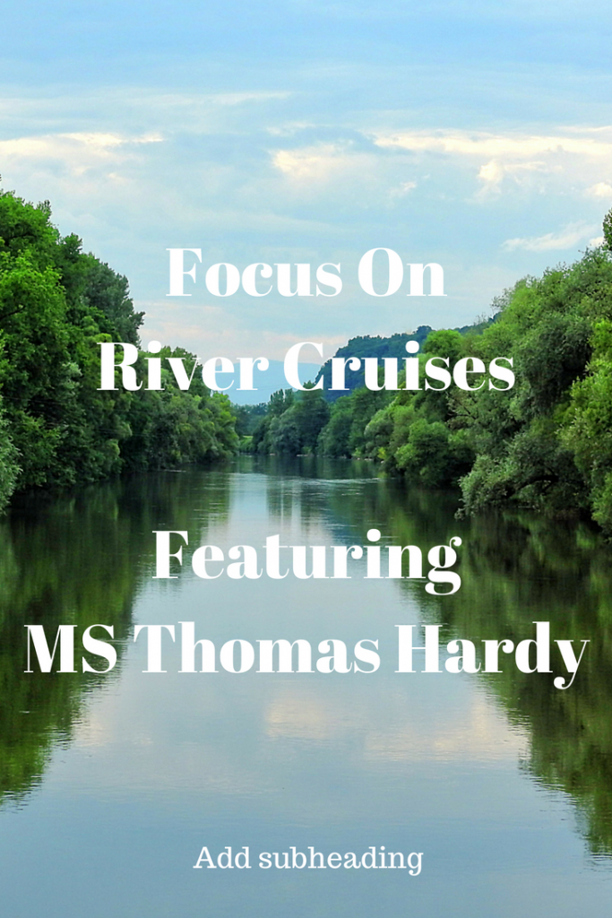 River Cruises are increasing in popularity. Whilst the majority of River Cruises are on European Waterways more exotic destinations are becoming available. Ships can be luxurious but are much smaller than their ocean sailing cousins. However; you will not suffer seasickness on River Cruises! Our article features the MS Thomas Hardy