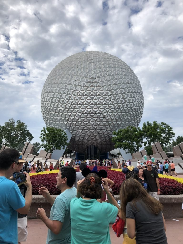 Guide to Epcot Spaceship Earth