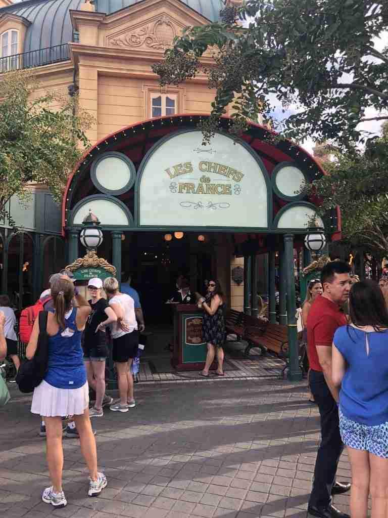 Dining at Walt Disney Wolrd
