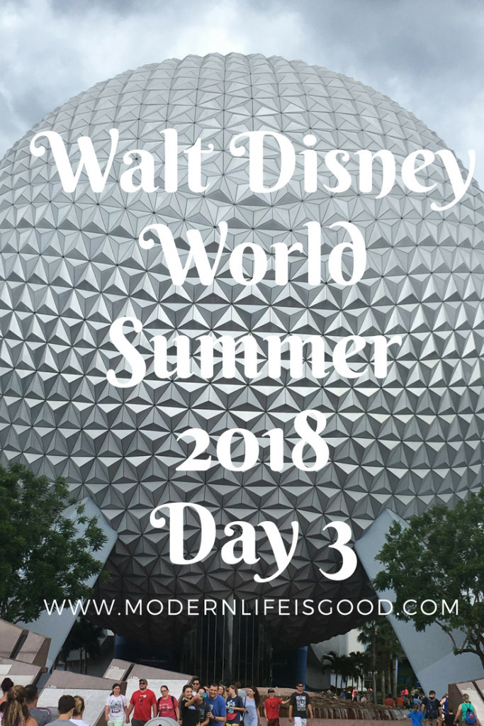 Disney World Summer 2018 Rain and Then More Rain